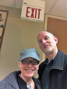 Exiting Chemo!